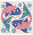 Two fish vector