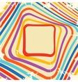 Abstract retro frame design vector