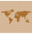 World map web icon flat design vector