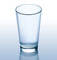 Glass empty vector