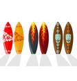 vector surf boards vector