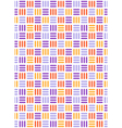 Seamless bright fun abstract mosaic knitted vector