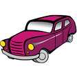Old car 2 pink vector