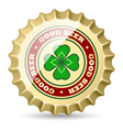 Beer cap vector