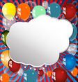Balloon celebration group event festival colour fu vector