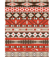 Aztecs seamless colorful pattern vector