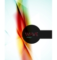 Blur red and blue abstract background vector