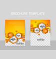 Brochure background vector