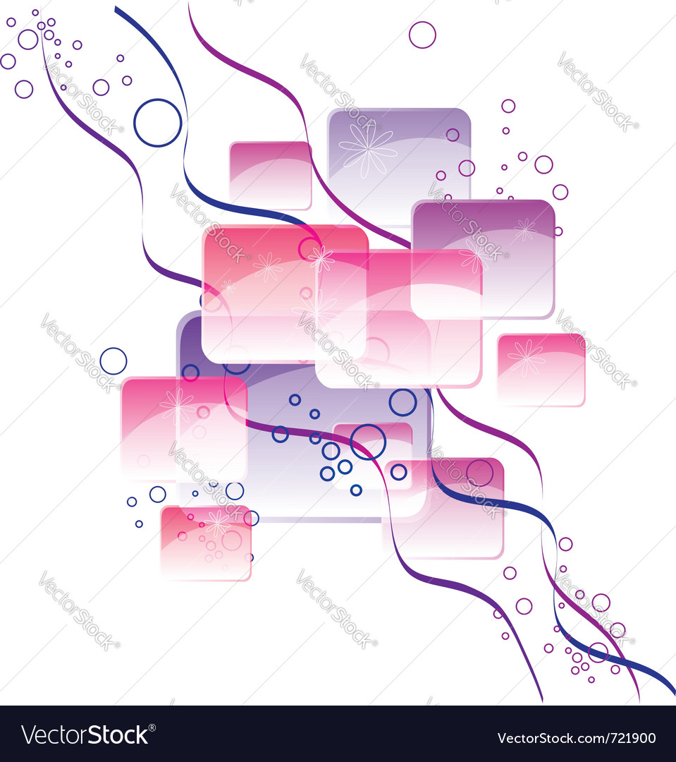 Abstract squares vector | Price: 1 Credit (USD $1)