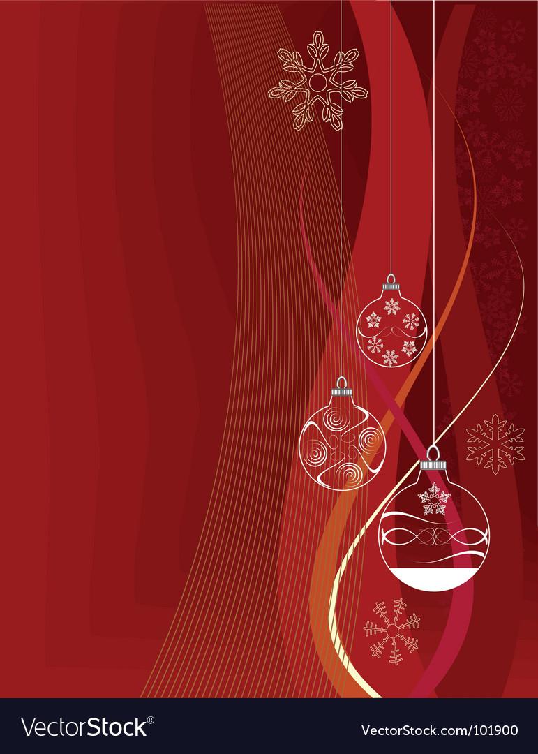 Christmas print vector | Price: 1 Credit (USD $1)