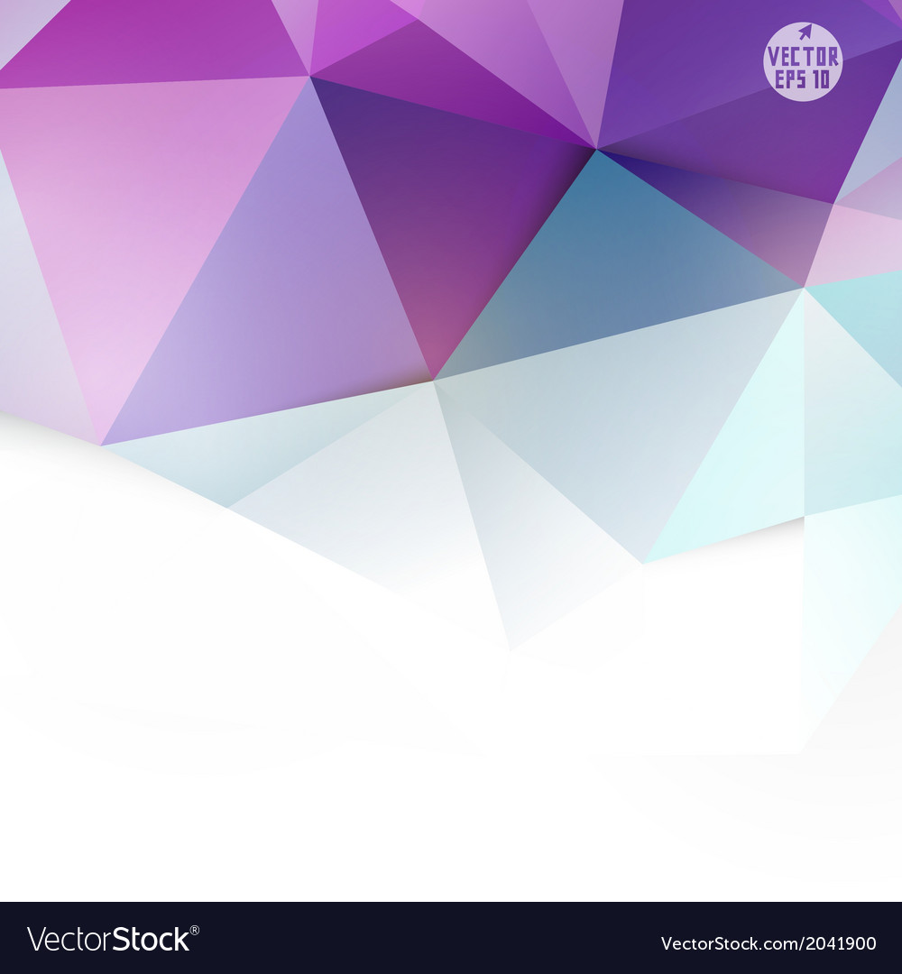 Modern purple polygon background vector | Price: 1 Credit (USD $1)