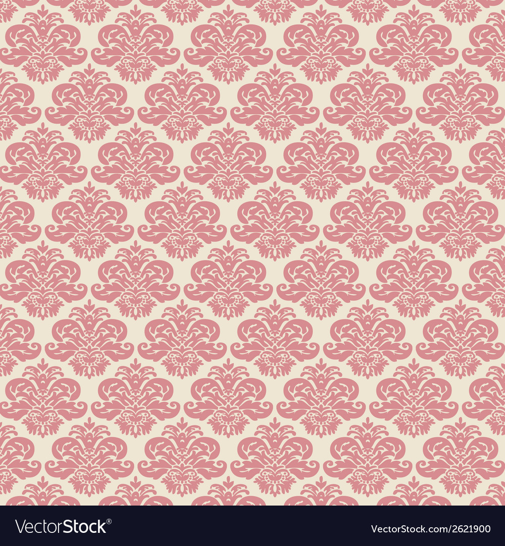 Rose damask vector | Price: 1 Credit (USD $1)