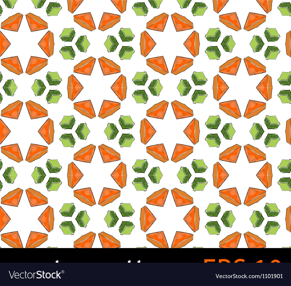 Floral fruit pattern vector | Price: 1 Credit (USD $1)