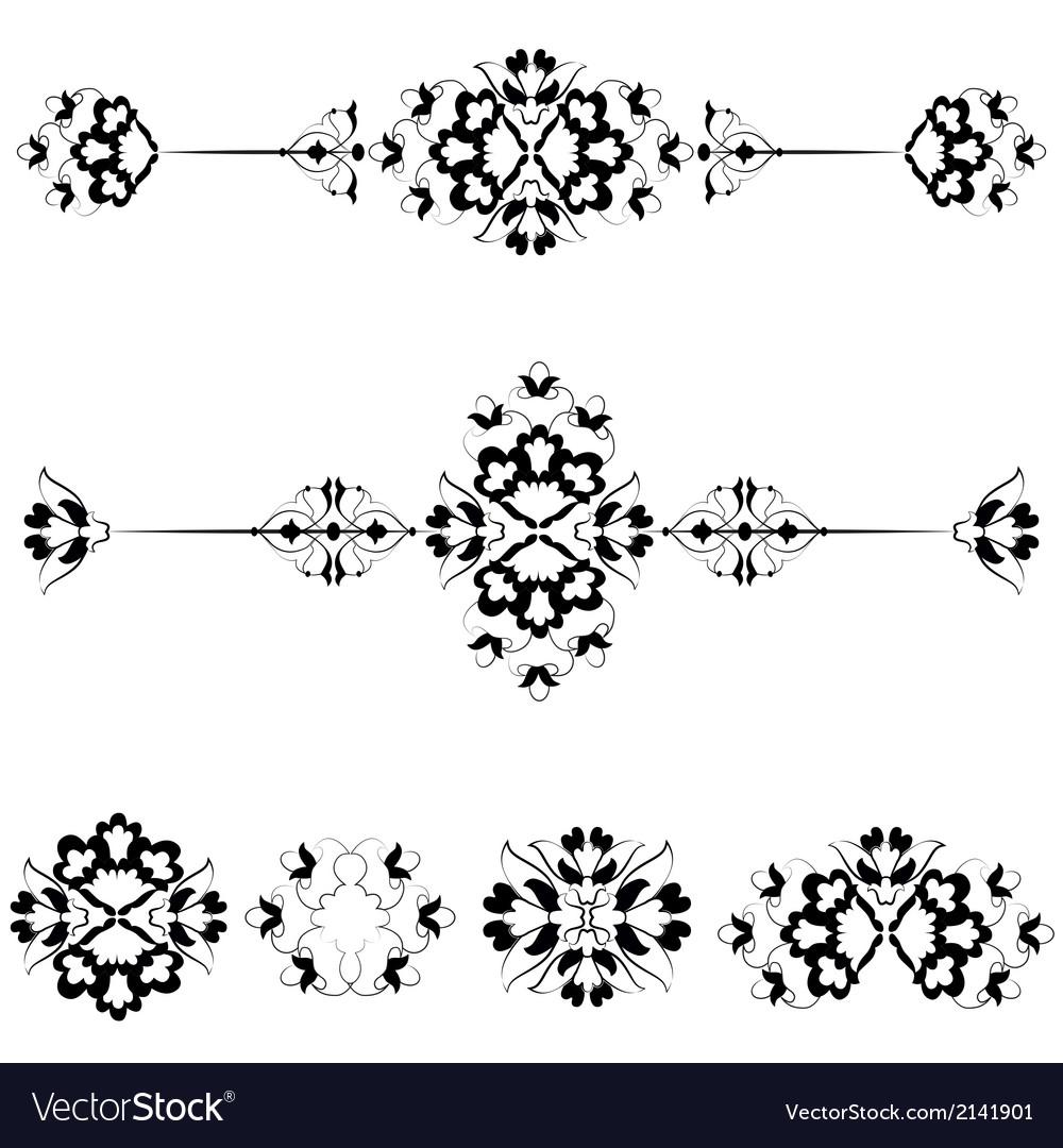 Ottoman motifs design series with seventeen vector   Price: 1 Credit (USD $1)