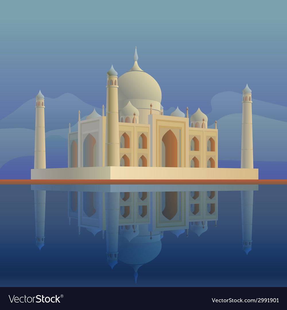 Tajmahal vector | Price: 3 Credit (USD $3)