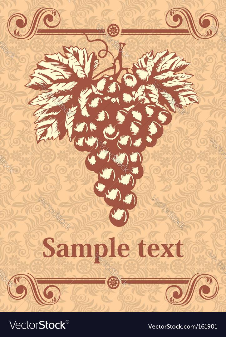 Wine label vector | Price: 3 Credit (USD $3)