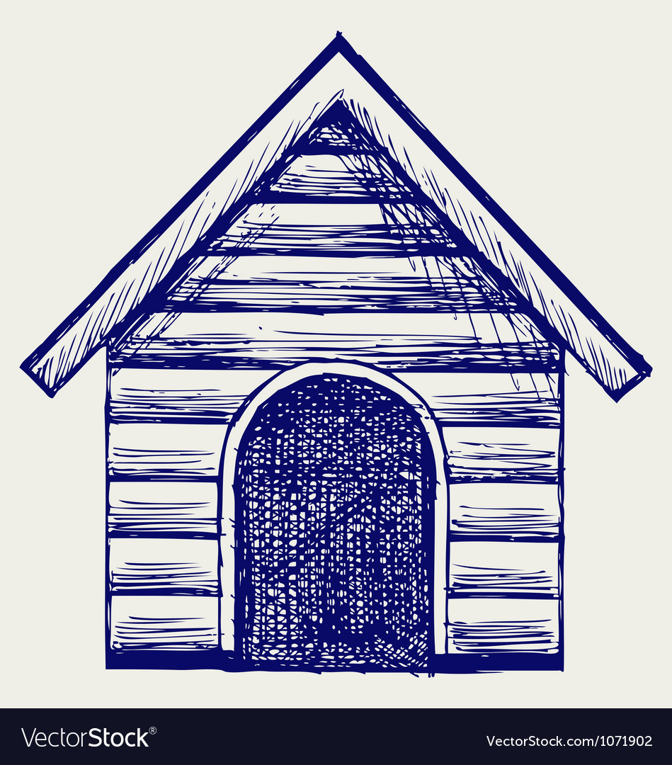 Dog house vector | Price: 1 Credit (USD $1)