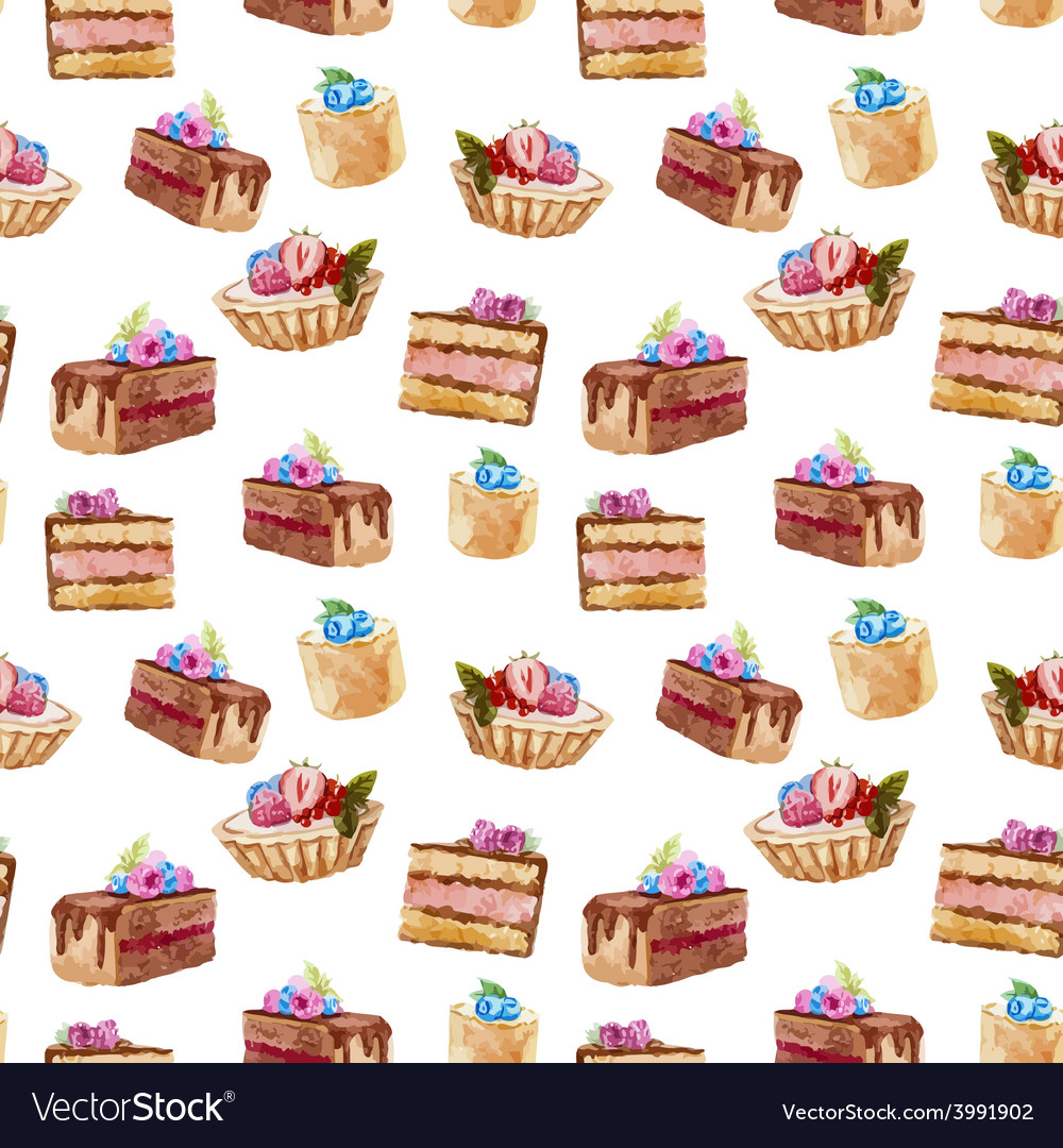 Tasty cakes vector | Price: 1 Credit (USD $1)