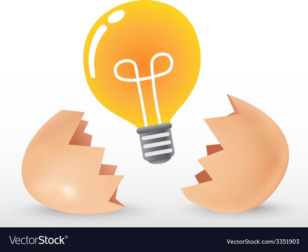 Bulb egg vector | Price: 1 Credit (USD $1)
