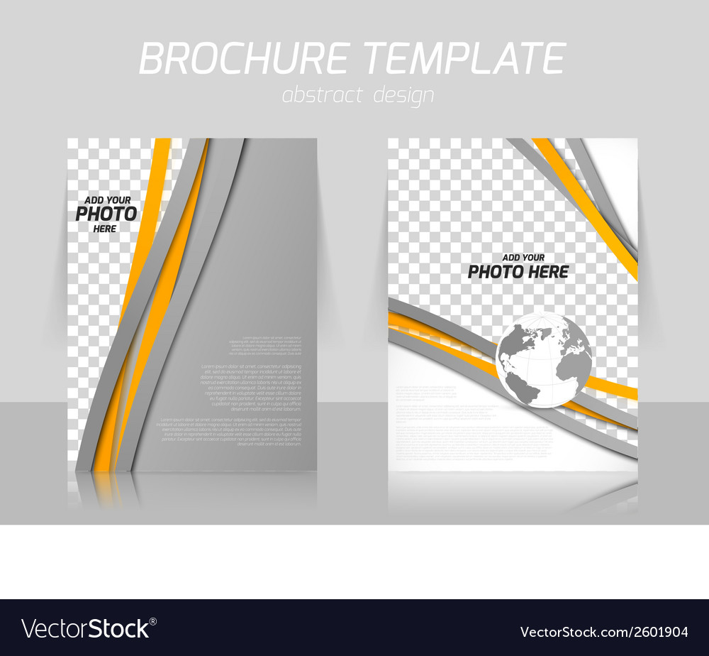 Brochure with lines vector | Price: 1 Credit (USD $1)