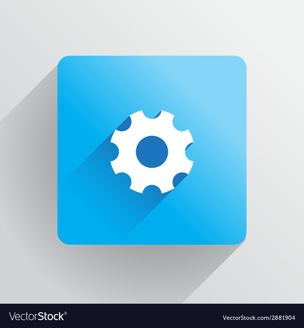 Cog icon vector | Price: 1 Credit (USD $1)