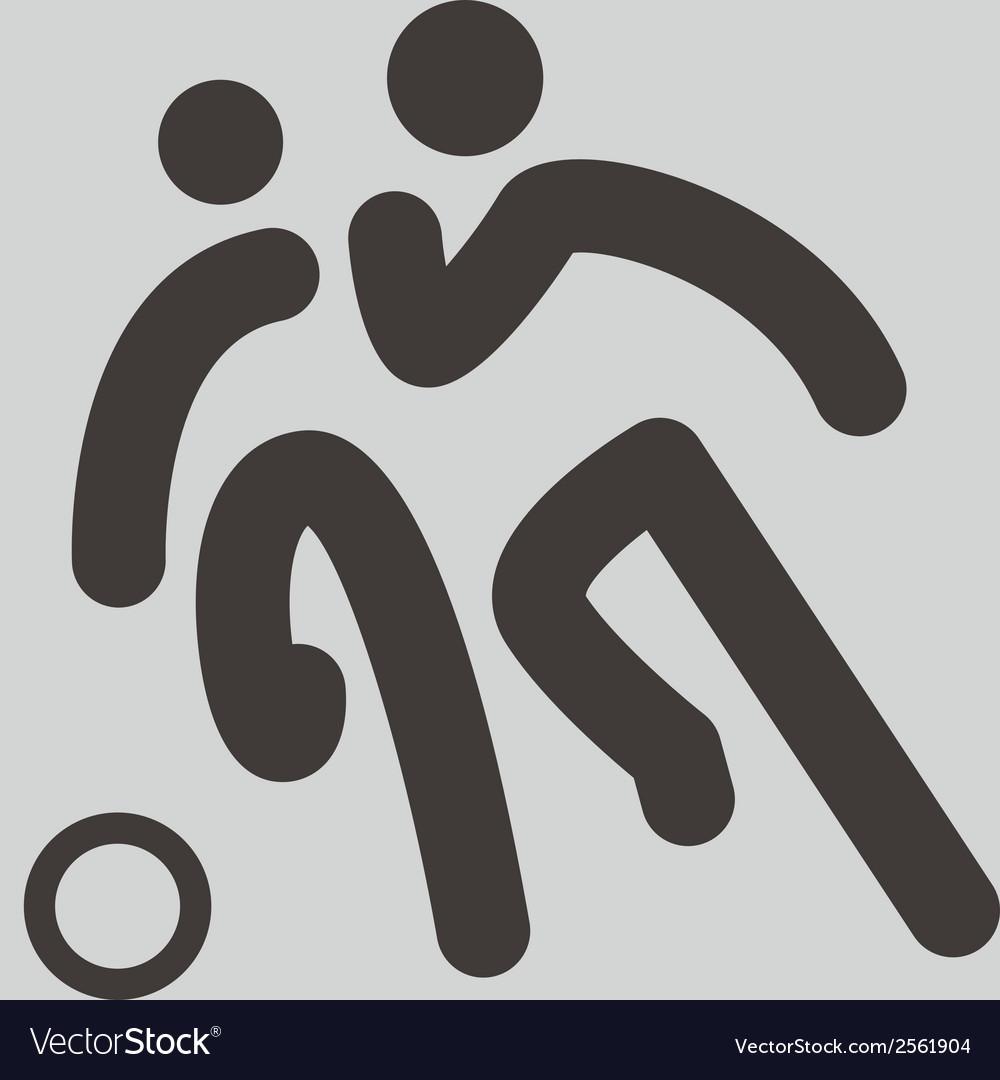 Football icon vector | Price: 1 Credit (USD $1)