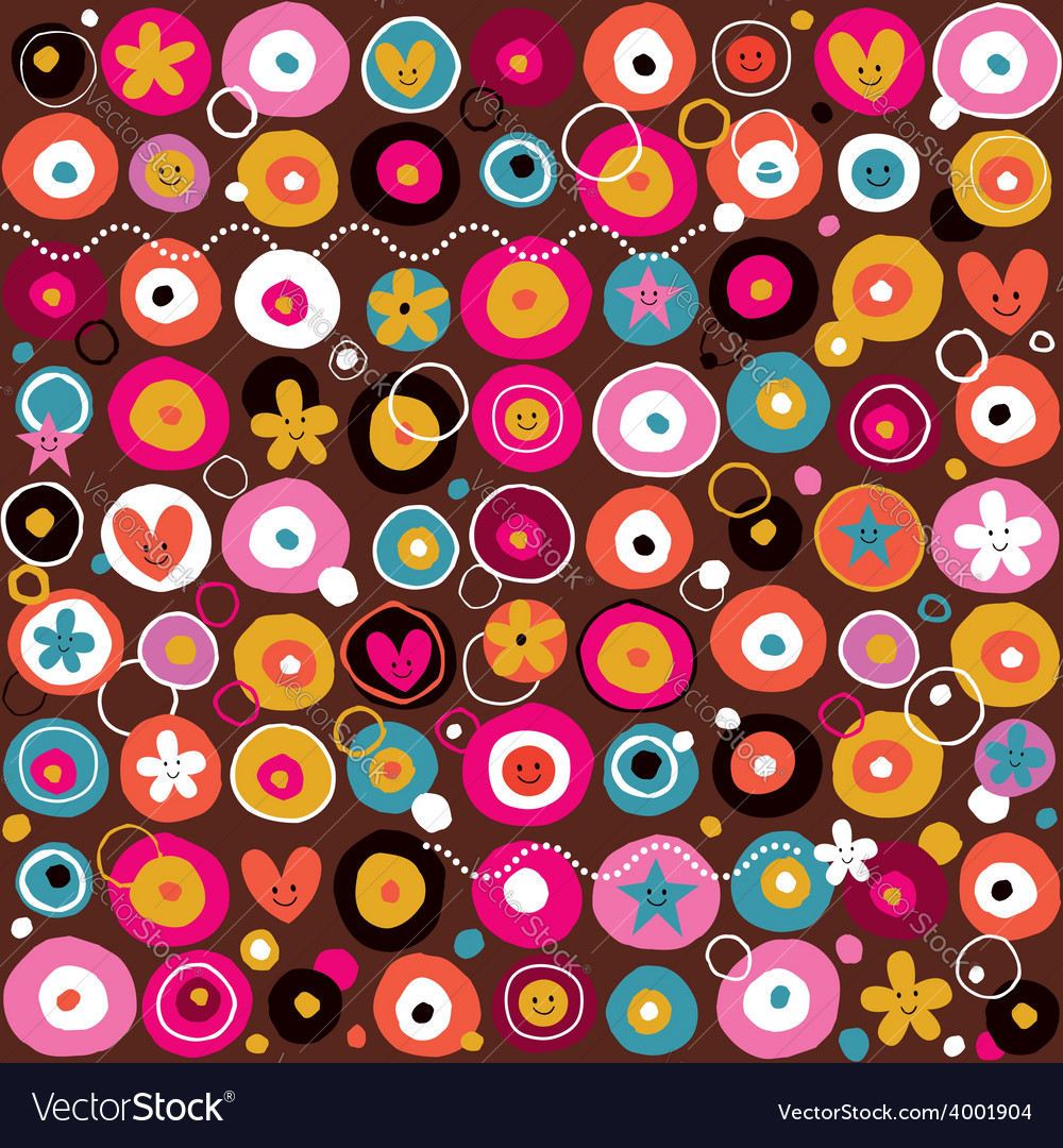 Fun pattern 4 vector | Price: 1 Credit (USD $1)