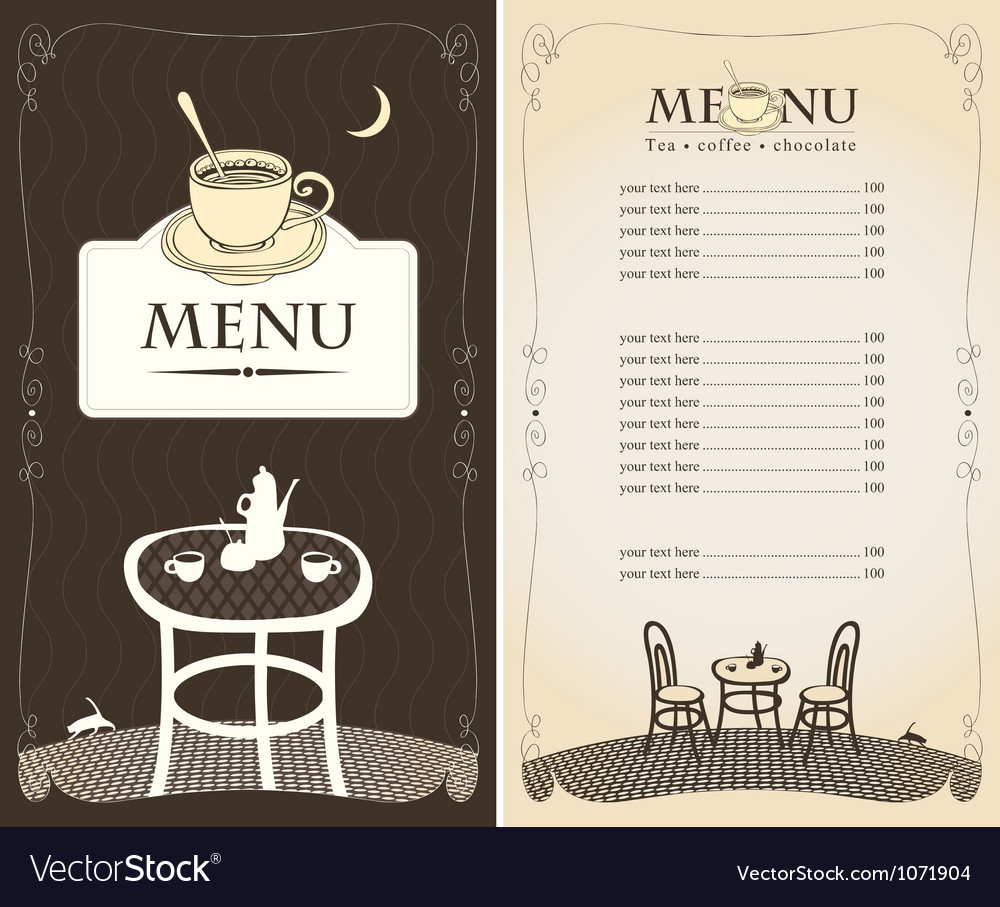 Midnight cafe vector | Price: 1 Credit (USD $1)