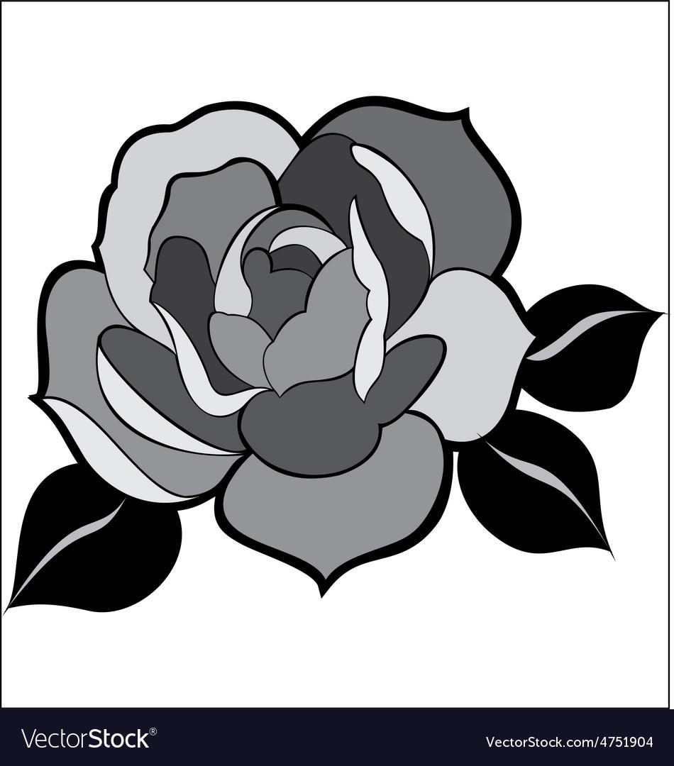 Rose-00 vector | Price: 1 Credit (USD $1)
