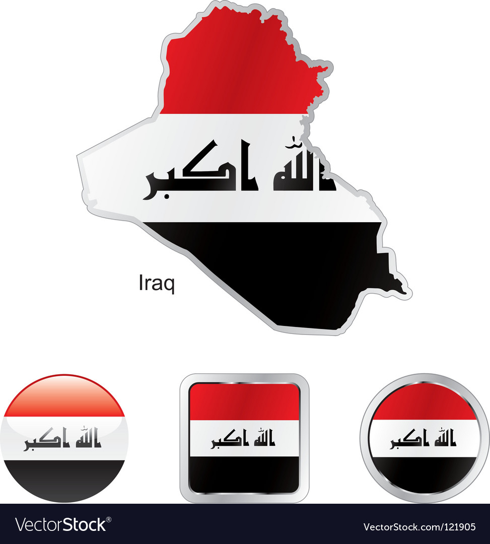 Iraq vector | Price: 1 Credit (USD $1)