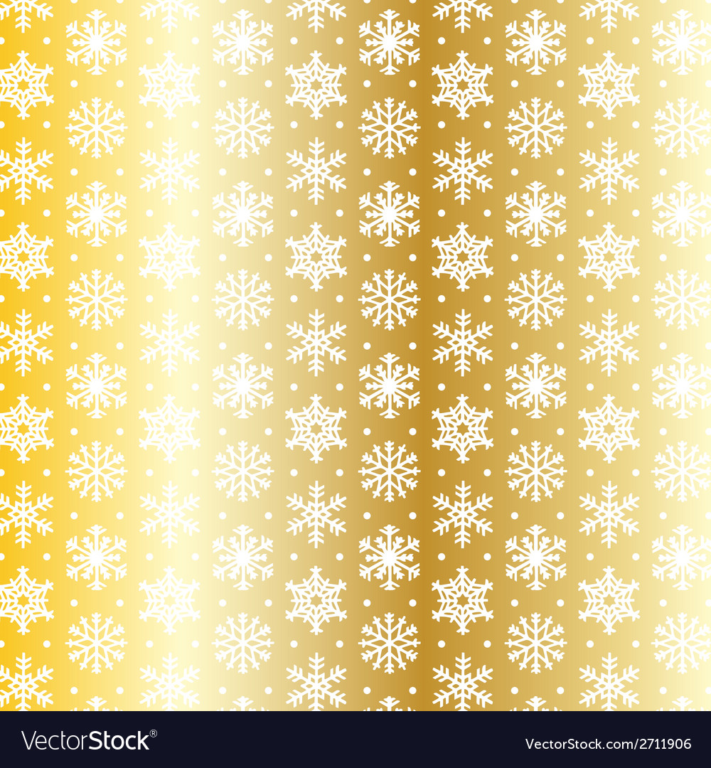 Gold snowflake vector | Price: 1 Credit (USD $1)