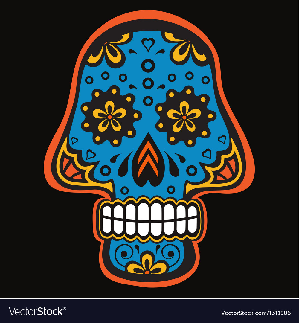 Skull4 vector | Price: 1 Credit (USD $1)