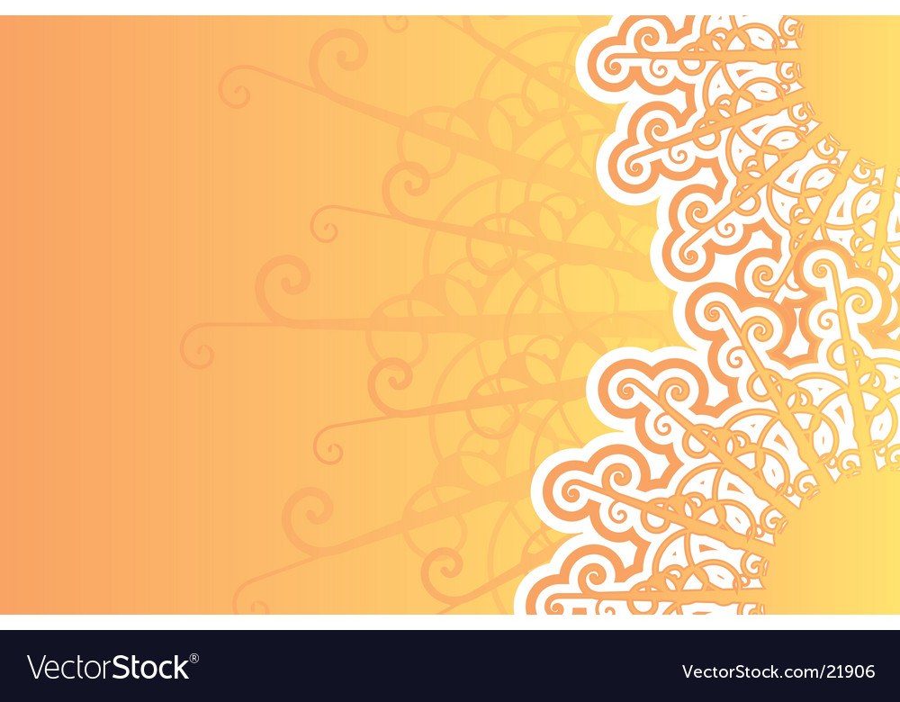 Sunny retro background vector | Price: 1 Credit (USD $1)
