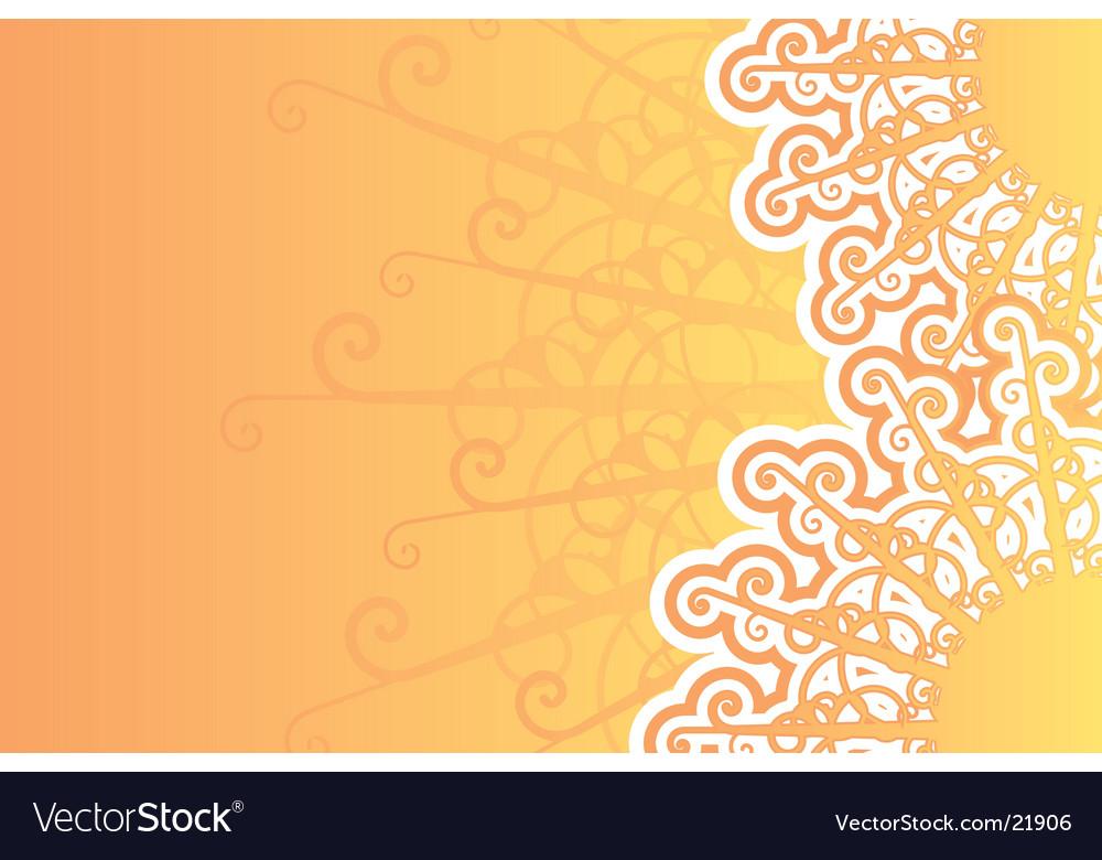 Sunny retro background vector | Price: 1 Credit (USD $1)