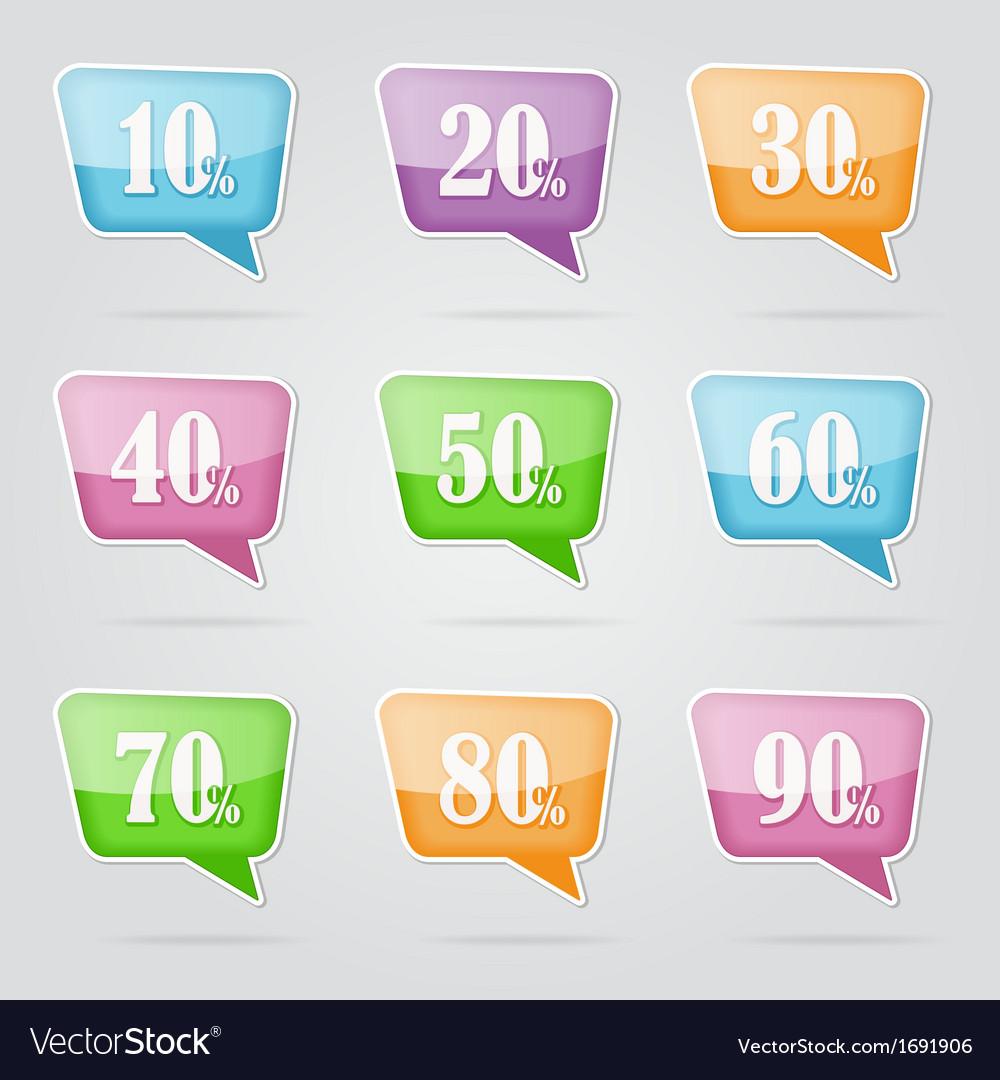 Text bubble sale vector   Price: 1 Credit (USD $1)