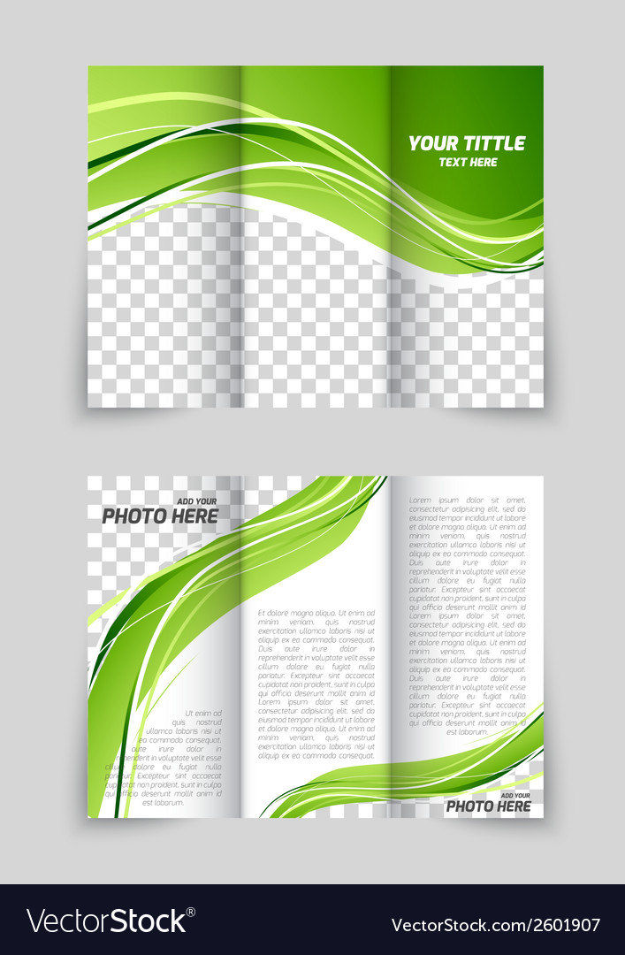 Brochure with wave vector | Price: 1 Credit (USD $1)