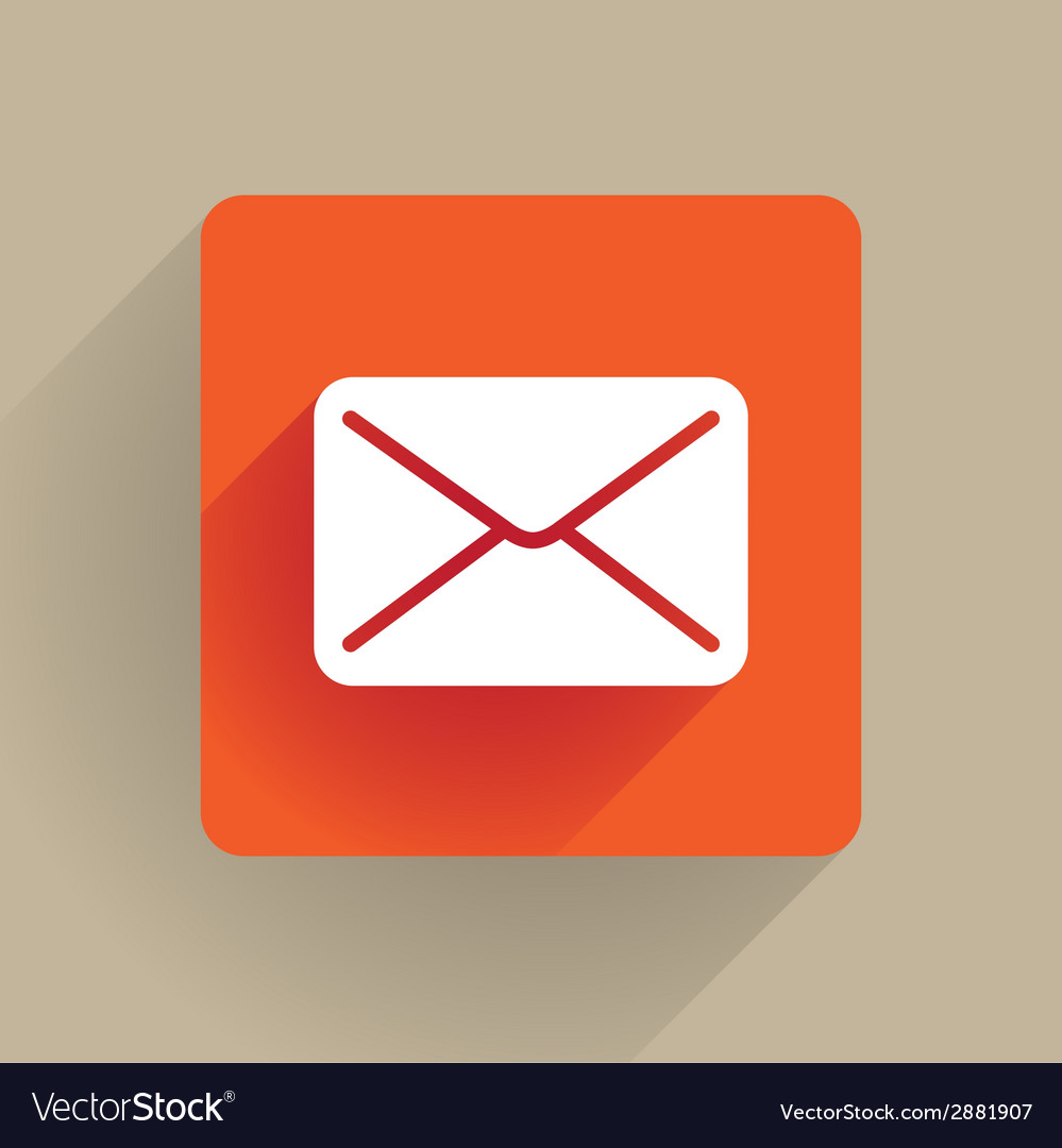 Post envelope icon vector | Price: 1 Credit (USD $1)