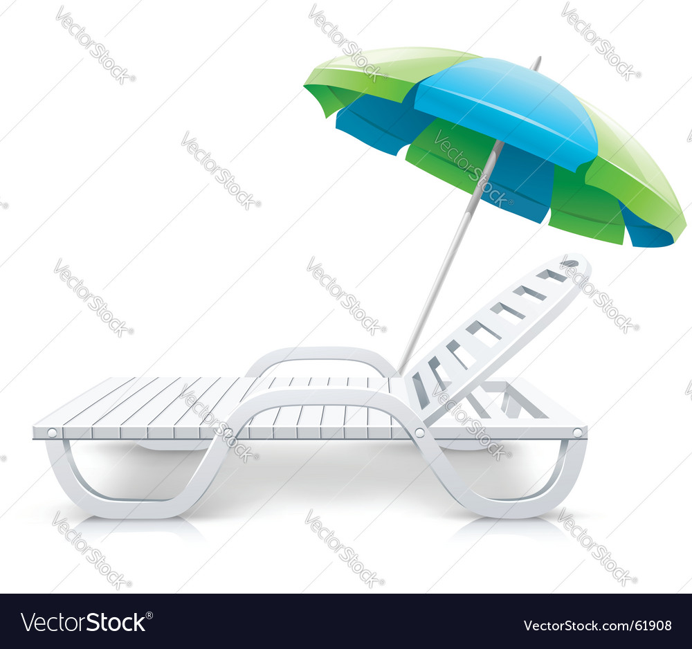 Deck chairs vector | Price: 3 Credit (USD $3)