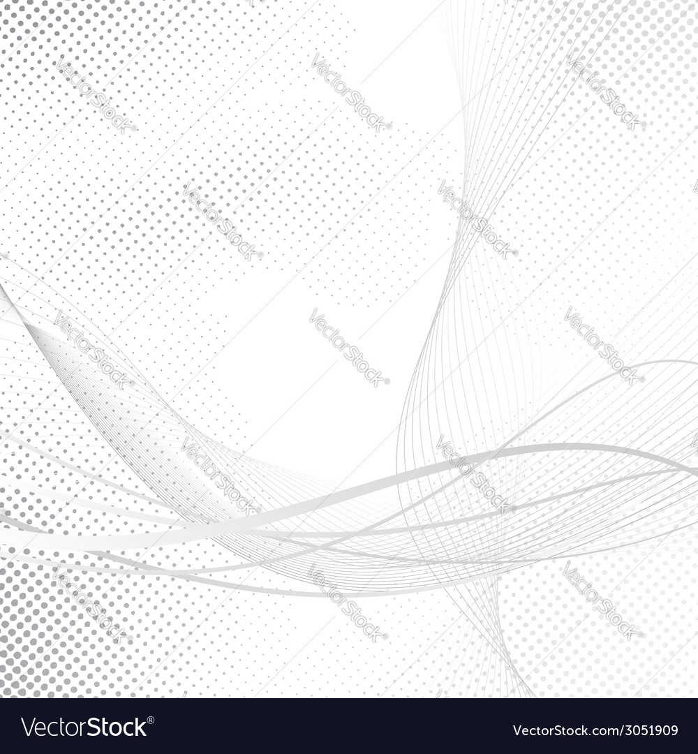 Abstract swoosh halftone lines dotted background vector | Price: 1 Credit (USD $1)