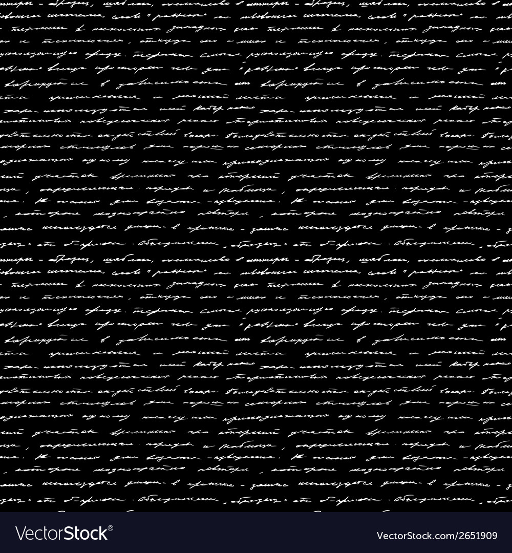 Handwriting seamless background vector | Price: 1 Credit (USD $1)