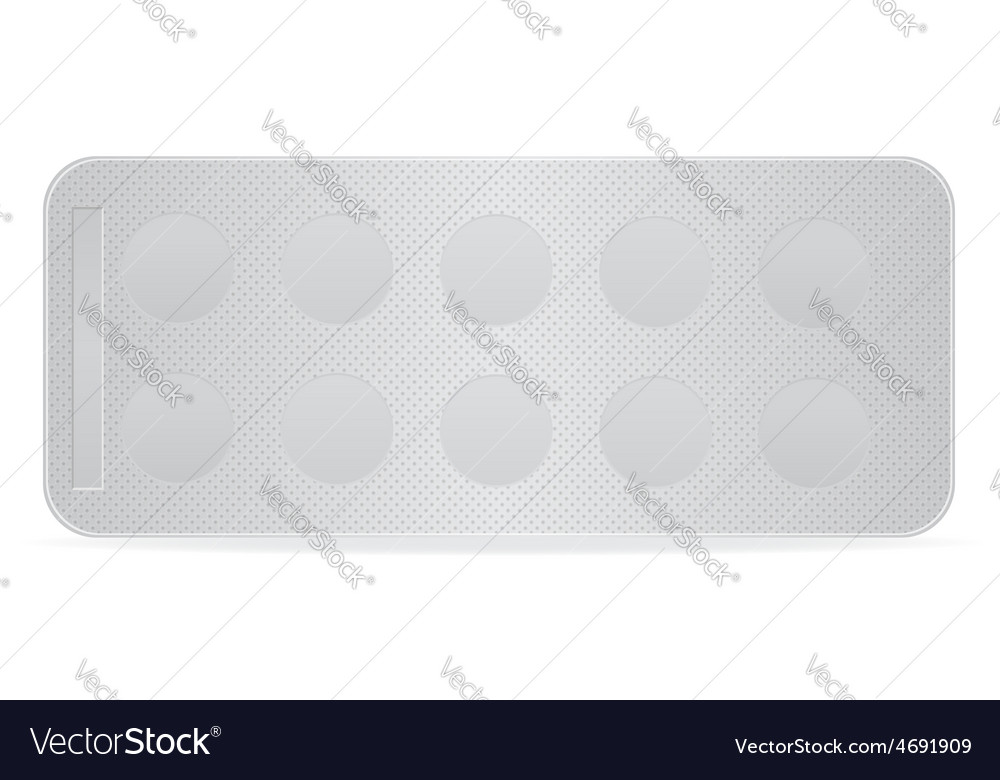 Pill in package 02 vector | Price: 1 Credit (USD $1)