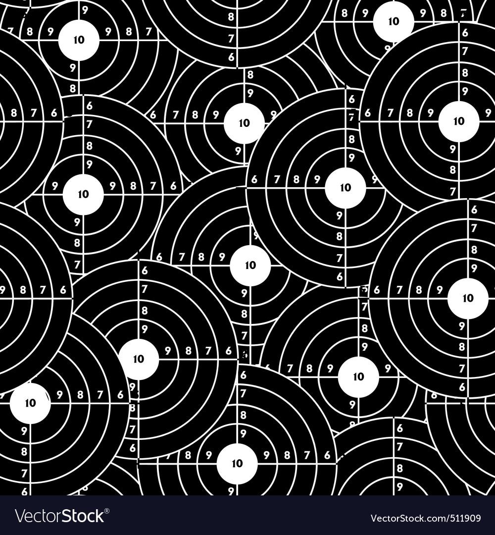 Seamless wallpaper black target vector   Price: 1 Credit (USD $1)