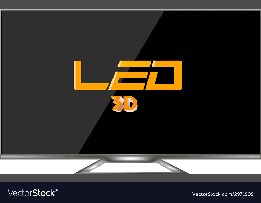 Tv ecreen vector | Price: 1 Credit (USD $1)