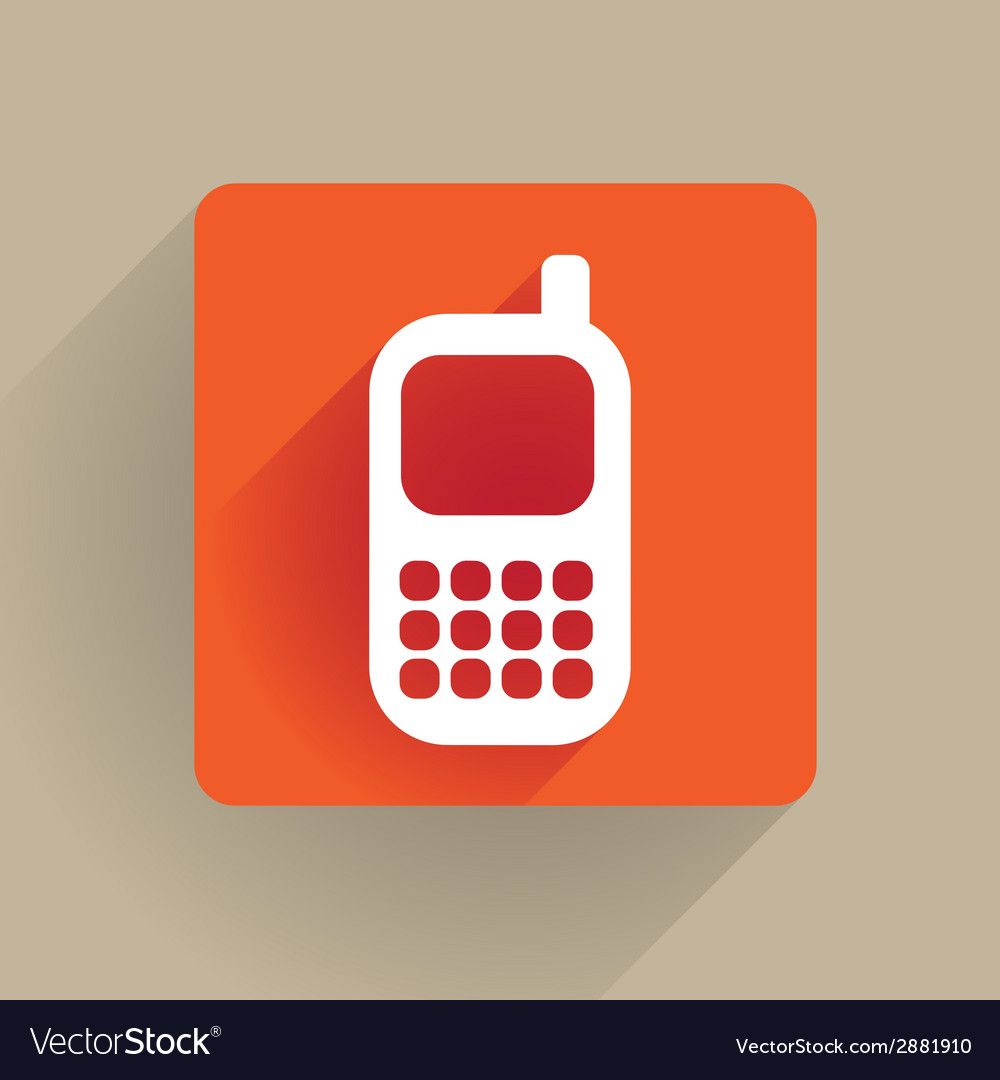 Celphone vector | Price: 1 Credit (USD $1)