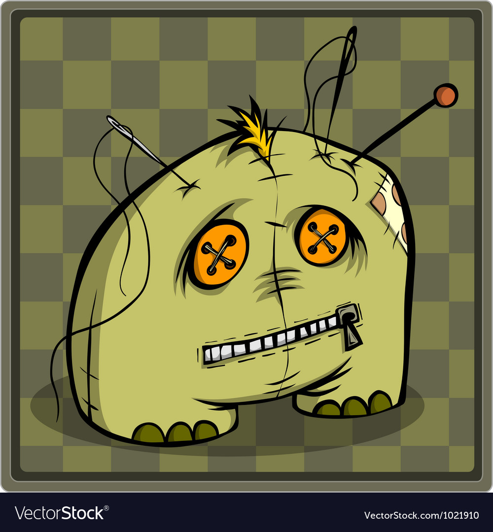 Needle bar voodoo doll vector | Price: 1 Credit (USD $1)