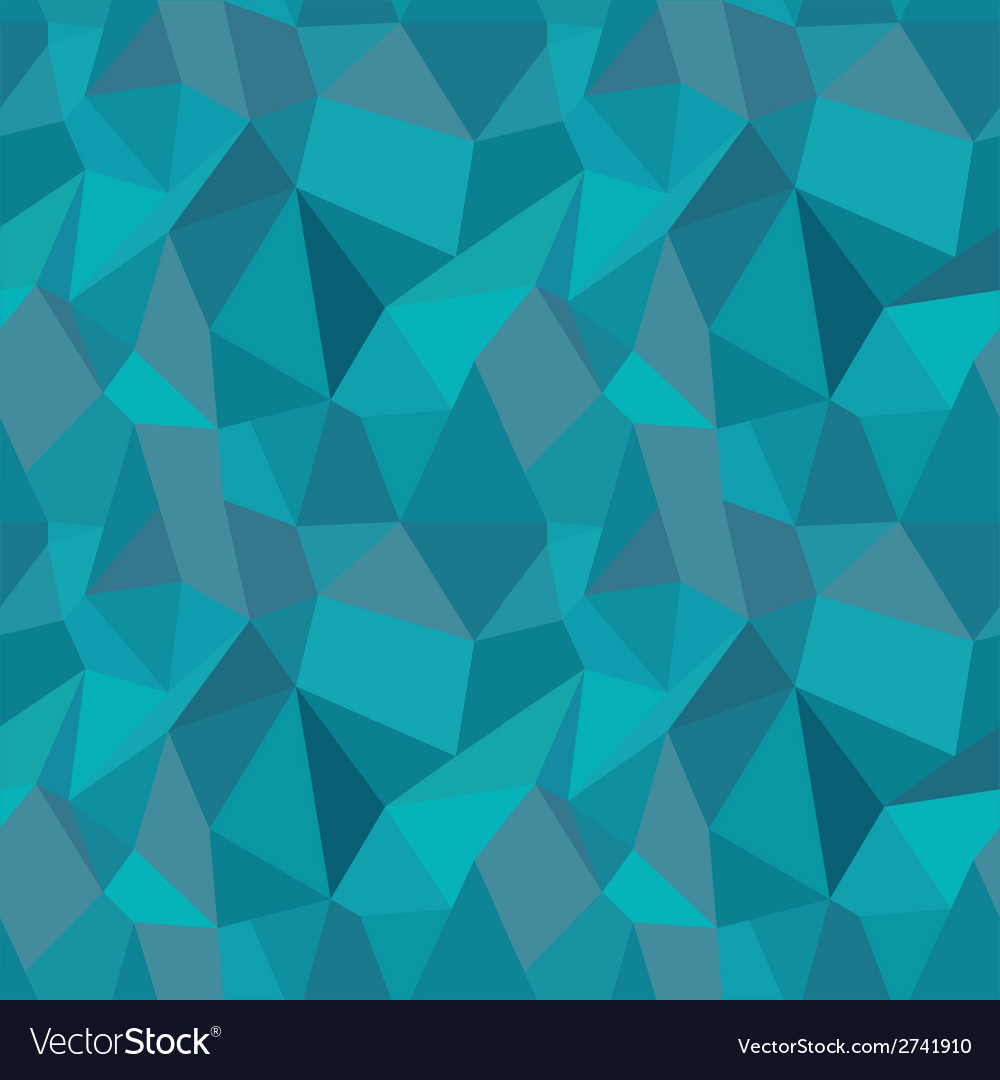 Seamless geometric polygonal pattern background vector | Price: 1 Credit (USD $1)