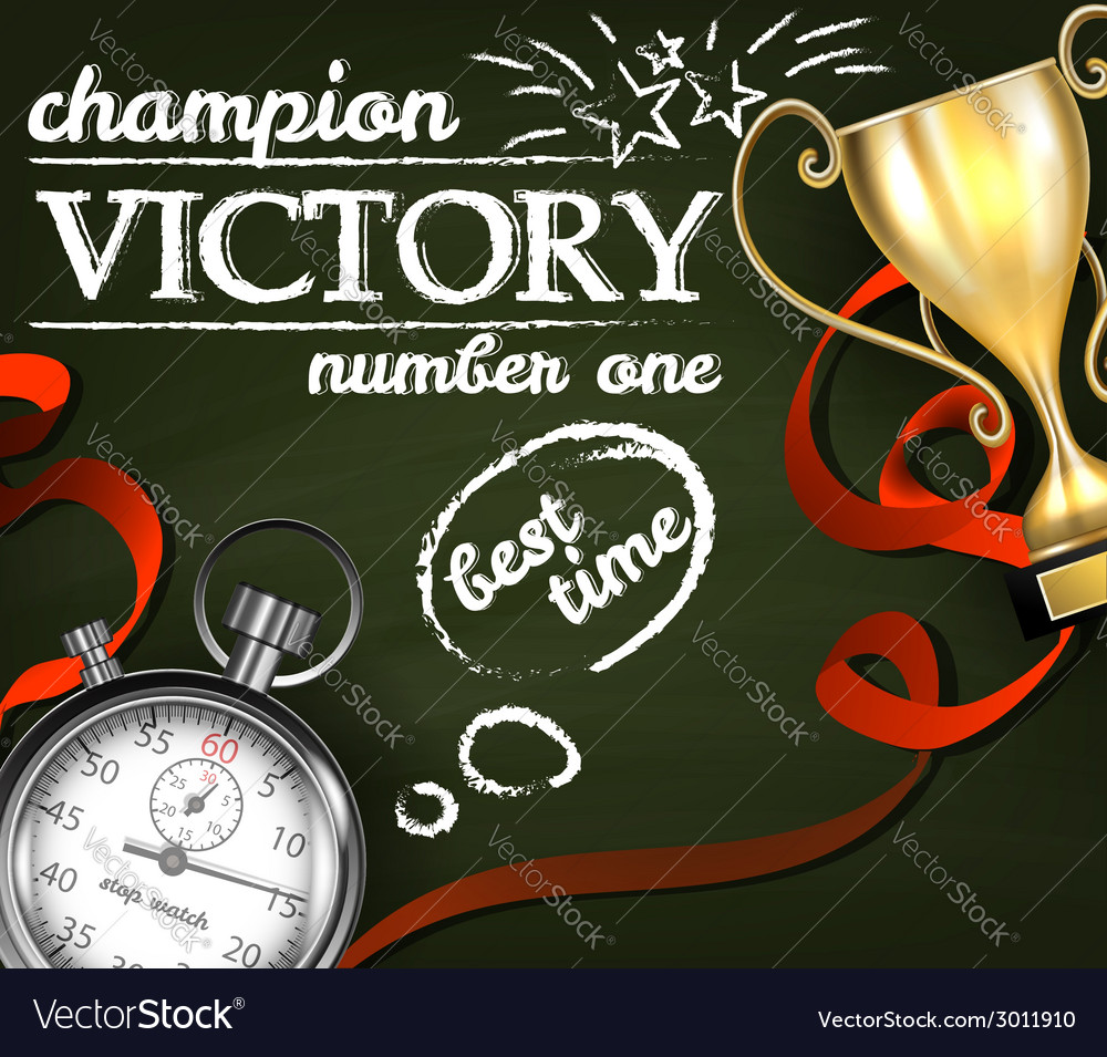Victory background vector | Price: 1 Credit (USD $1)