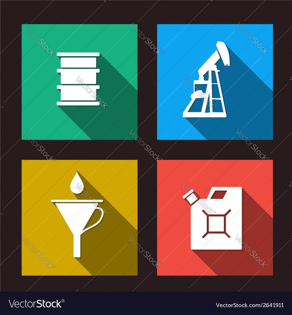 Fuel set icons vector | Price: 1 Credit (USD $1)