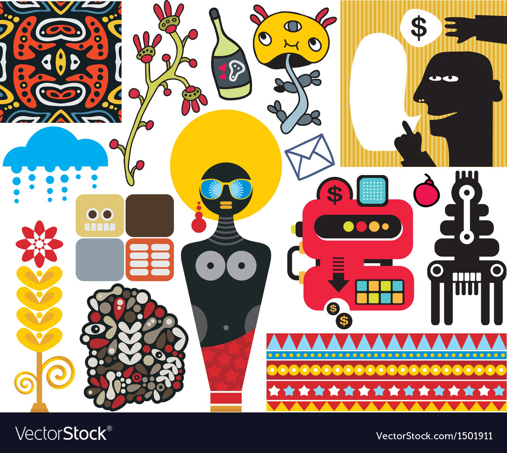 Mix of different images vol49 vector | Price: 3 Credit (USD $3)