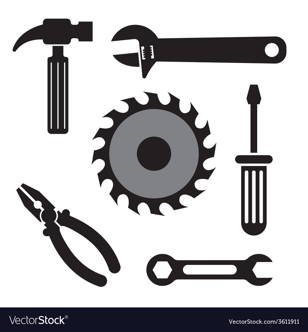 Tool icons vector | Price: 1 Credit (USD $1)